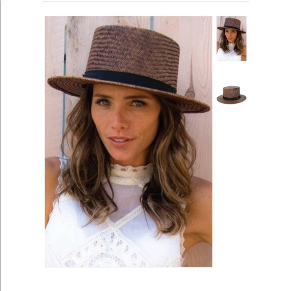 7aabd0a7df8e2 Indiana Straw Boater Hat